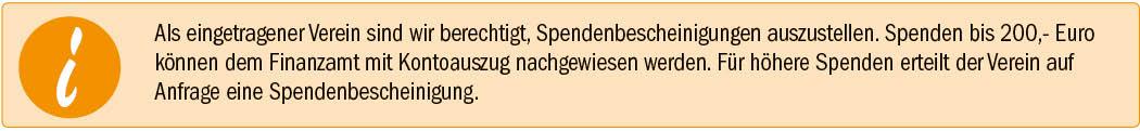Spendeninfo